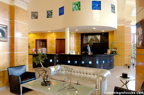 Hotel Telegrafo Reception